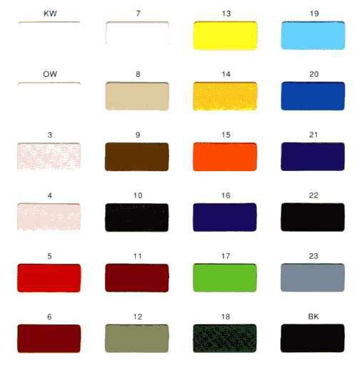 カラートロマット 24色